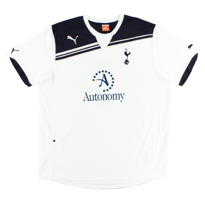 2010-11 Tottenham Home Shirt L