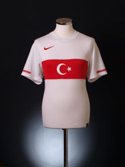 2010-11 Turkey Away Shirt S