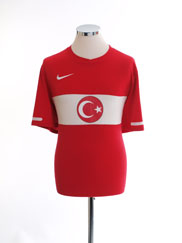 2010-11 Turkey Home Shirt L