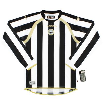 2010-11 Udinese Home Shirt L/S *BNIB*