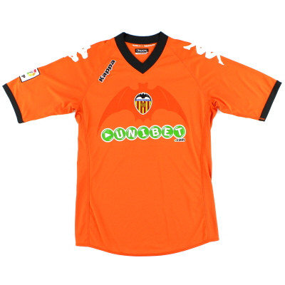 2010-11 Valencia Away Shirt L