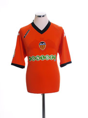 2010-11 Valencia Away Shirt XL