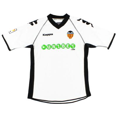 2010-11 Valencia Home Shirt M