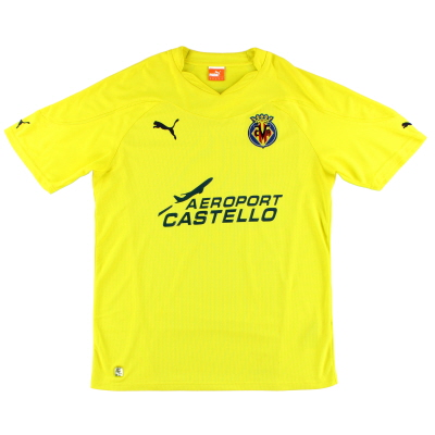 2010-11 Villarreal Home Shirt M