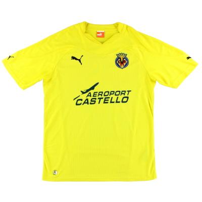 2007-08 Villarreal Puma Home Shirt XL