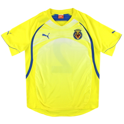 2010-11 Villarreal Puma Player Issue Training Shirt #2 L