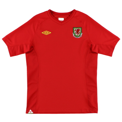 2010-11 Wales Home Shirt *Mint* S