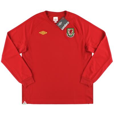 2010-11 Wales Home Shirt *w/tags* L/S XL.Boys