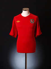 2010-11 Wales Home Shirt XL