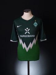 2010-11 Werder Bremen Home Shirt XXL