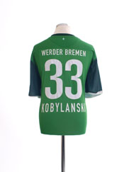 2010-11 Werder Bremen Home Shirt Kobylanski #33 XXL