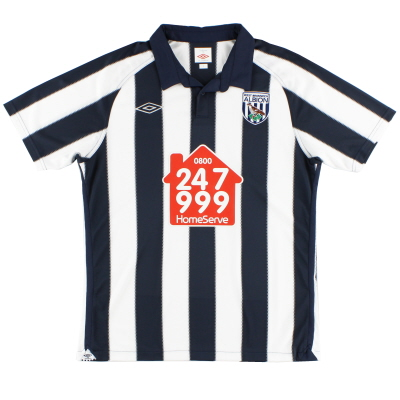 2010-11 West Brom Umbro Home Shirt M