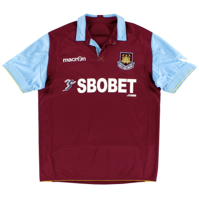2010-11 West Ham Home Shirt L
