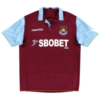 2010-11 West Ham Macron Home Shirt XL