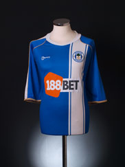 2010-11 Wigan Home Shirt 4XL