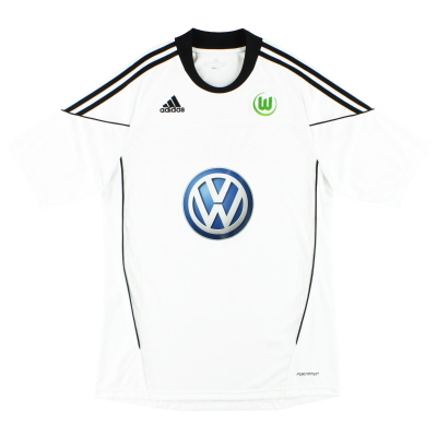 2010-11 Wolfsburg adidas 'Formotion' Third Shirt *Mint* L
