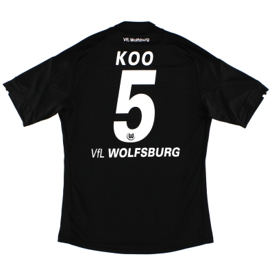 2010-11 Wolfsburg Away Shirt Koo #5 M
