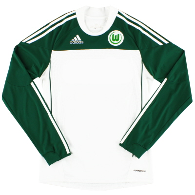 2010-11 Wolfsburg Formotion Home Shirt L/S *Mint* L