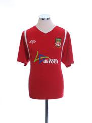 2010-11 Wrexham Home Shirt L
