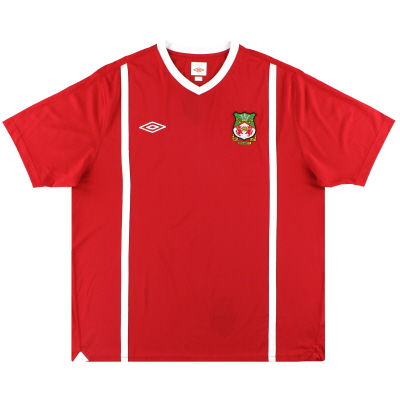 2010-11 Wrexham Umbro Home Shirt XXL