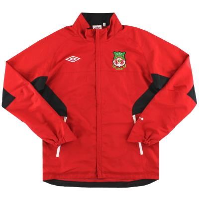 2010-11 Wrexham Umbro Training Jacket M