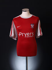 2010-11 York City Home Shirt XL