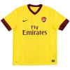 2010-12 Arsenal Away Shirt v.Persie #10 *As New* L
