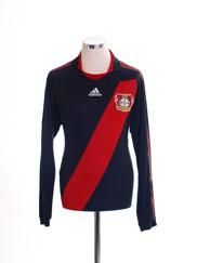 2010-12 Bayer Leverkusen 'Formotion' Home Shirt L/S M