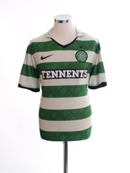 2010-12 Celtic Home Shirt L