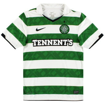 2010-12 Celtic Nike Home Shirt S