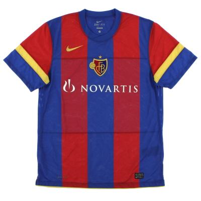 2010-12 FC Basel Home Shirt *Mint* L