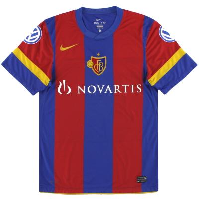2010-12 FC Basel Nike Home Shirt S
