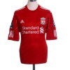 2010-12 Liverpool Home Shirt Gerrard #8 M