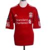 2010-12 Liverpool Home Shirt Gerrard #8 L
