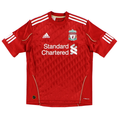 2010-12 Liverpool adidas Home Shirt S