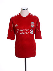 2010-12 Liverpool Home Shirt M