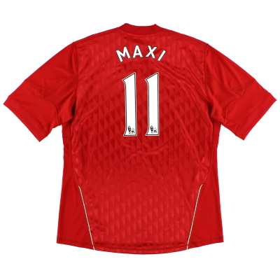 2010-12 Liverpool Home Shirt Maxi #11 XL