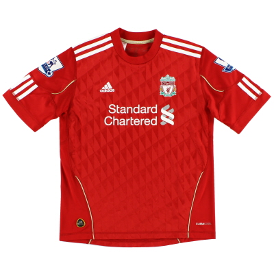 2010-12 Liverpool Home Shirt Y