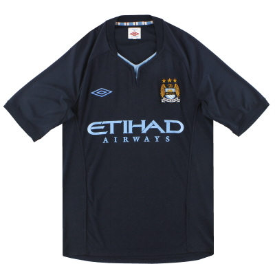 2010-12 Manchester City Umbro Away Shirt S