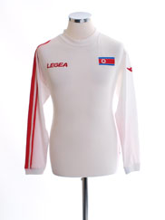2010-12 North Korea World Cup Away Shirt L/S *BNIB* M