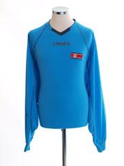 2010-12 North Korea World Cup Light Blue Gk Shirt *BNIB* XL