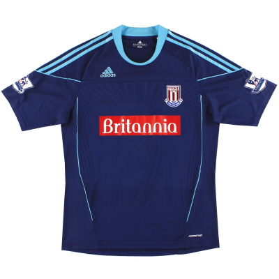 2010-12 Stoke City adidas 'Formotion' Away Shirt XL