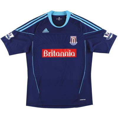 2010-12 Stoke City adidas 'Formotion' Away Shirt XL