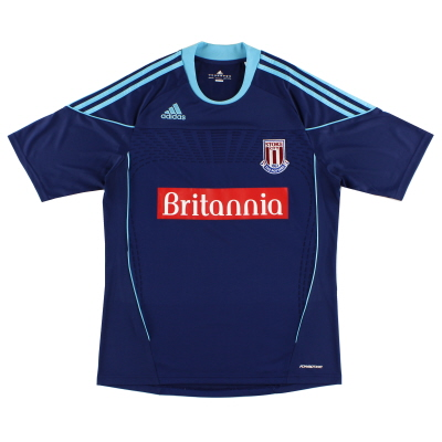 2010-12 Stoke City 'Formotion' Away Shirt *Mint* M