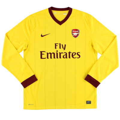 2010-13 Arsenal Away Shirt L/S *Mint* L