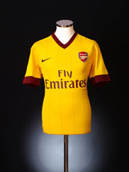 2010-13 Arsenal Away Shirt M