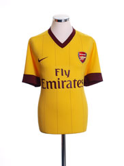 2010-13 Arsenal Away Shirt S