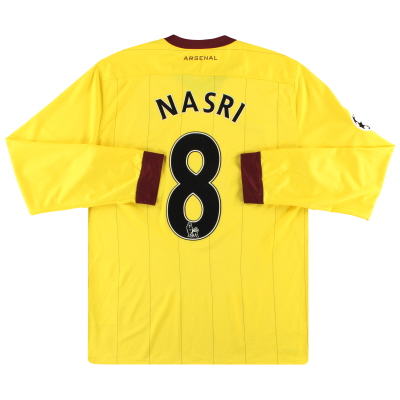 2010-13 Arsenal Nike Away Shirt Nasri #8 L/S L