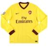2010-13 Arsenal Nike Away Shirt Nasri #8 L/S L