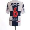 2010 Alianza Lima Away Shirt #6 L